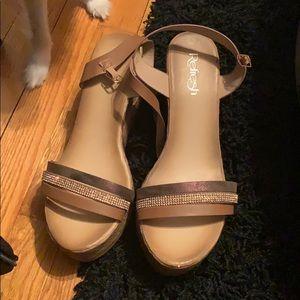 Shoes - Wedge sandals sz10
